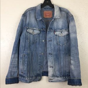 Vintage Levis Jean Jacket, Trucker Denim Jacket